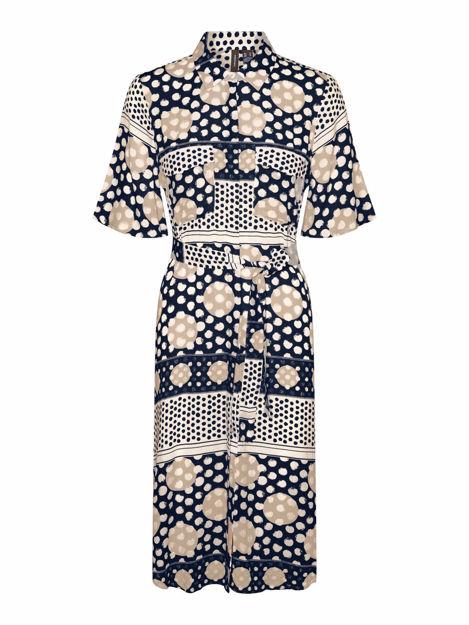 VMANNA 2/4 BLK DRESS WVN GA SPE
