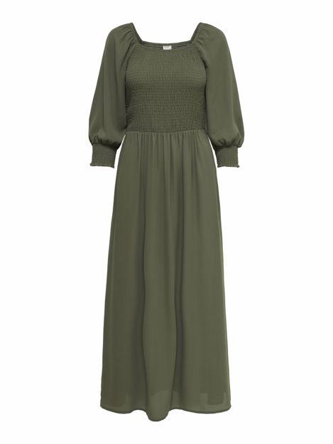 JDYMINA 3/4 SMOCK ANKLE DRESS WVN