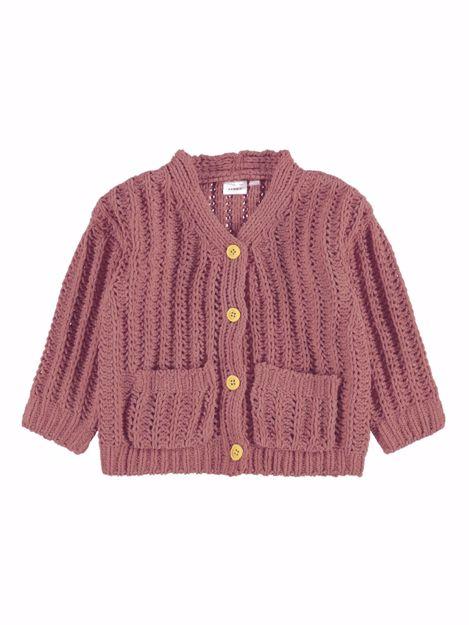 NMFbenthe ls knit cardigan.