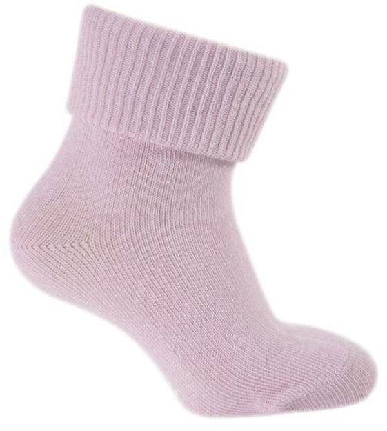 Melton cotton socks slip