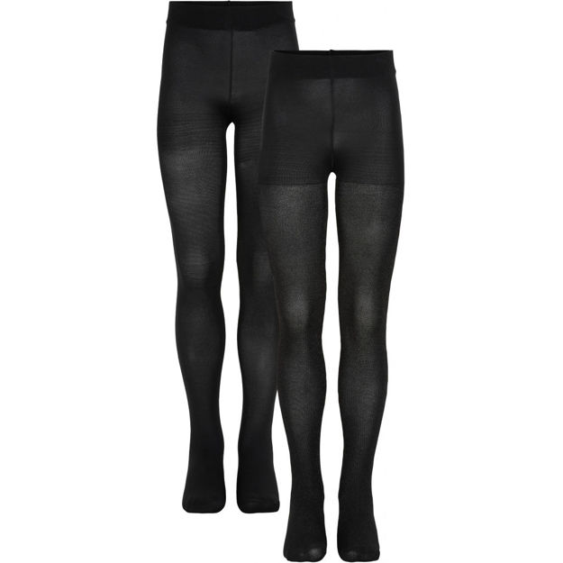 2-PACK TIGHTS GLITTER/SOLID