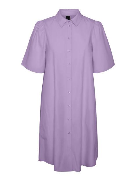 VMHELLA S/S SHIRT DRESS EXP