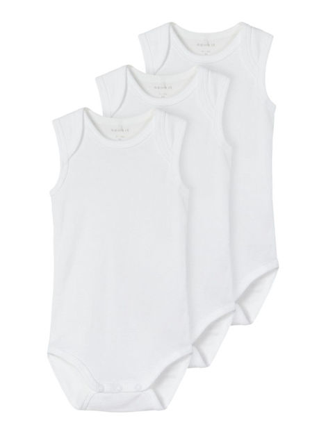 NBMBody 3p tank solid white noos