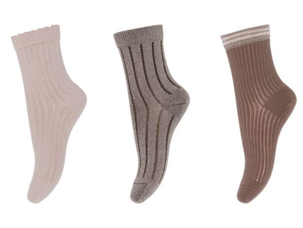 Abby 3-pack socks