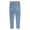 LVG PLEATED HIGH LOOSE JEANS