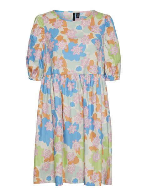 VMSMILLA 2/4 PUFF SHORT DRESS