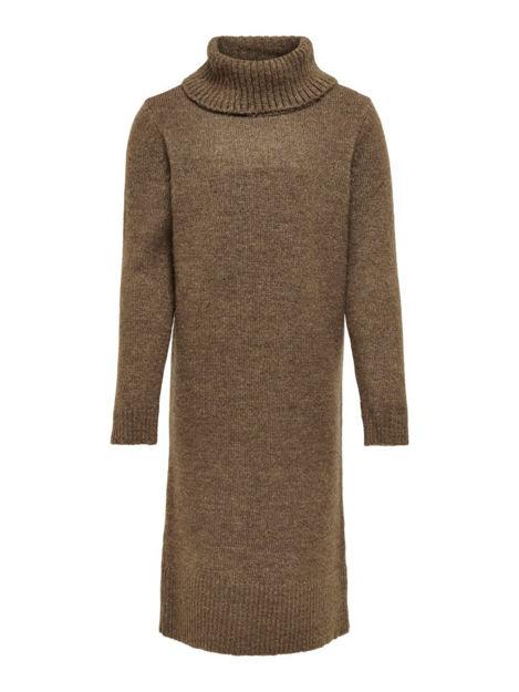 konbrandie ls roll neck dress