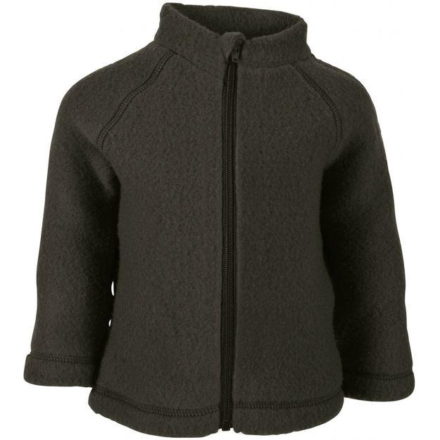 Wool baby jacket