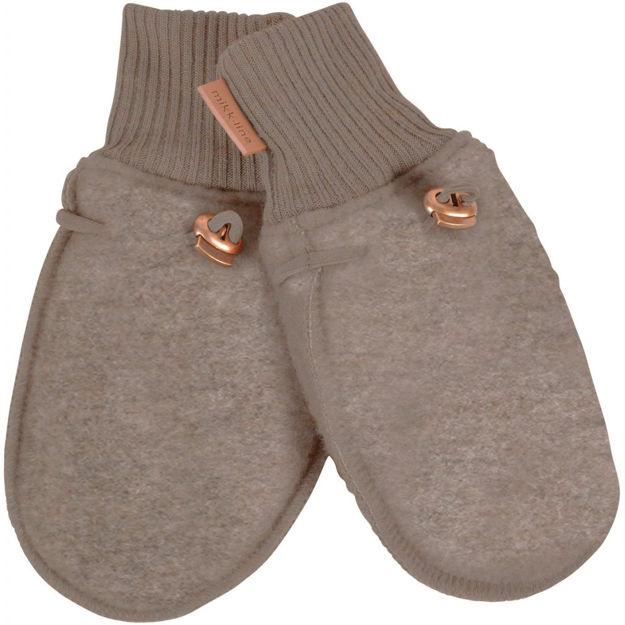 Wool mittens - Mikk-line